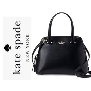 Black Patterson Drive Dome Satchel NWT $299